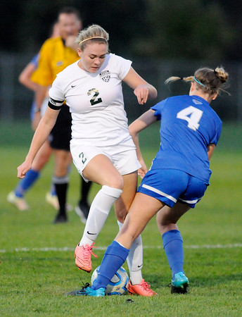Don Knight | The Herald Bulletin<br /> Pendleton Heights faced Hamilton Southeastern in the sectional at Noblesville on Thursday.