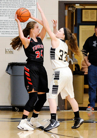 Don Knight   The Herald Bulletin<br /> Madison-Grant hosted Taylor on Tuesday.