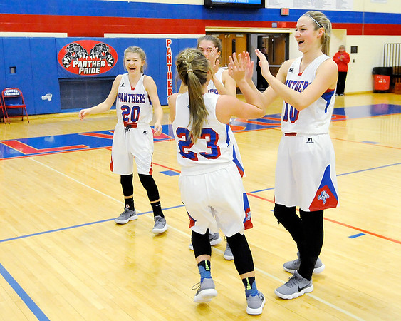 Don Knight |  The Herald Bulletin<br /> Elwood hosted Marion on Wednesday.