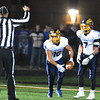 Jon Behm - The Morning Journal<br /> Olmsted Falls reciever Andrew Turski (16) celebrates his go-ahead touchdown with teammate Josh Goodwin during the fourth quarter against Midview on Nov. 4.