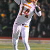 Jon Behm - The Morning Journal<br /> Avon Lake quarterback Mark Pappas winds up for a pass during the first quarter against Avon on Nov. 4.