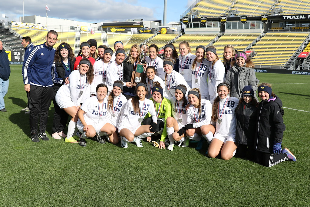 . David Thompson -  The News-Herald Photos from the Kirtland-Summit Country Day girls soccer Division III state final on Nov. 10 at MAPFRE Stadium in Columbus.