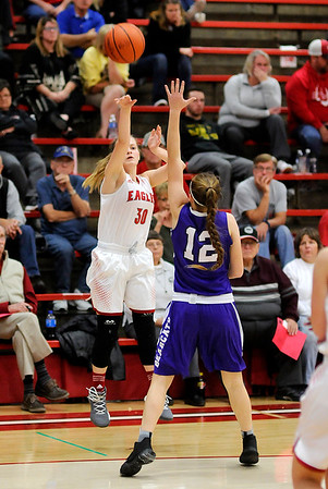 Don Knight    The Herald Bulletin<br /> Frankton hosted Muncie Central on Saturday.