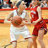 John P. Cleary |  The Herald Bulletin<br /> Frankton vs Liberty Christian in girls basketball.