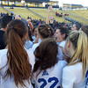 Chris Lillstrung - The News-Herald<br /> The Gilmour girls soccer team celebrates its Division III state championship on Nov. 12 in Columbus.