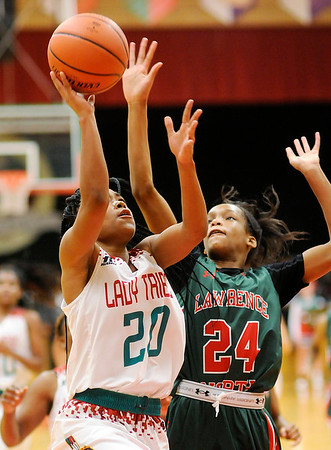Don Knight    The Herald Bulletin<br /> Anderson hosted Lawrence North on Wednesday.