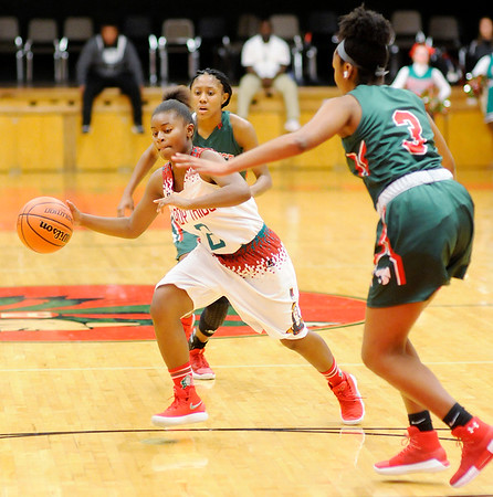 Don Knight |  The Herald Bulletin<br /> Anderson hosted Lawrence North on Wednesday.