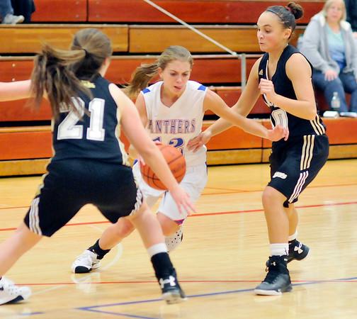 John P. Cleary   The Herald Bulletin  <br /> Lapel vs Elwood in girls basketball.