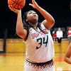 John P. Cleary |  The Herald Bulletin<br /> AHS vs Connersville in girls basketball.