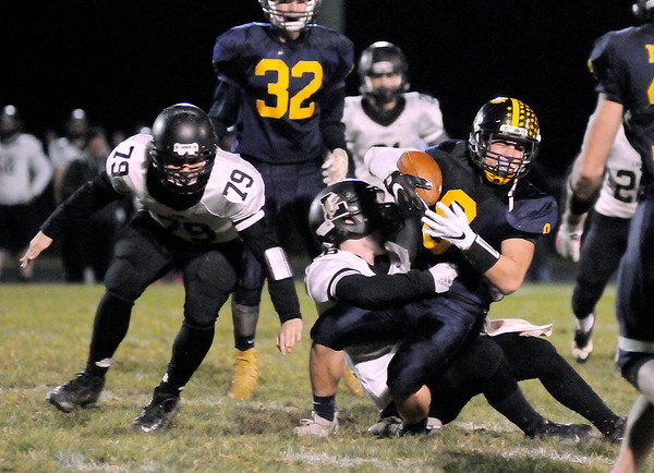 Don Knight   The Herald Bulletin<br /> Shenandoah hosted Lapel for the sectional championship on Friday.