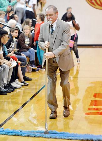 John P. Cleary |  The Herald Bulletin<br /> Blackhawk Christian vs Liberty Christian in boys basketball.