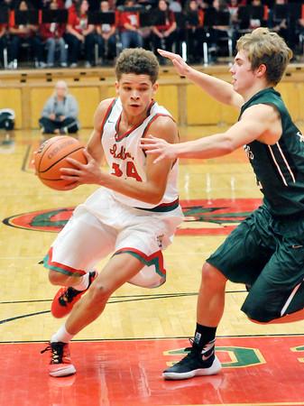 John P. Cleary | The Herald Bulletin  <br /> PHHS vs AHS in boys basketball.