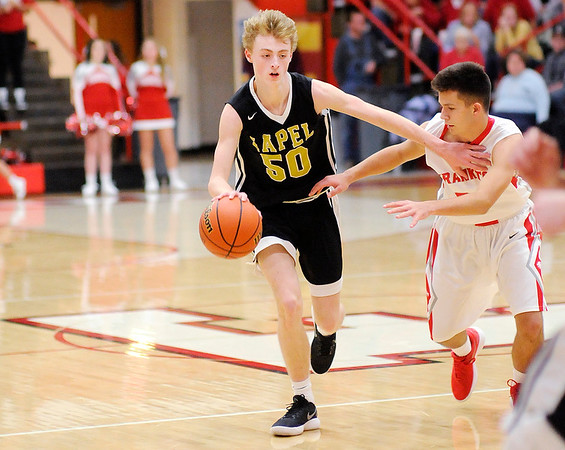 Don Knight    The Herald Bulletin<br /> Frankton hosted Lapel on Saturday.