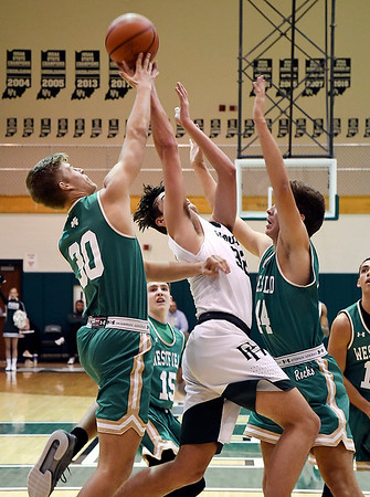 John P. Cleary | The Herald Bulletin<br /> Westfield vs Pendleton in boys basketball.