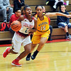 John P. Cleary |  The Herald Bulletin<br /> Marion vs AHS in girls basketball.