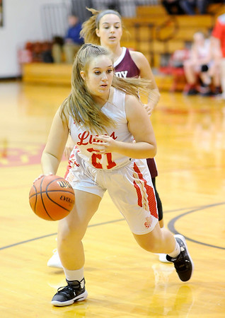 Don Knight | The Herald Bulletin<br /> Liberty Christian hosted Tri High on Thursday.