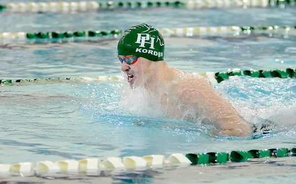 Don Knight |  The Herald Bulletin<br /> Pendleton Heights hosted Richmond on Thursday.