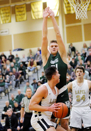 Don Knight   The Herald Bulletin<br /> Lapel hosted Pendleton Heights on Friday.