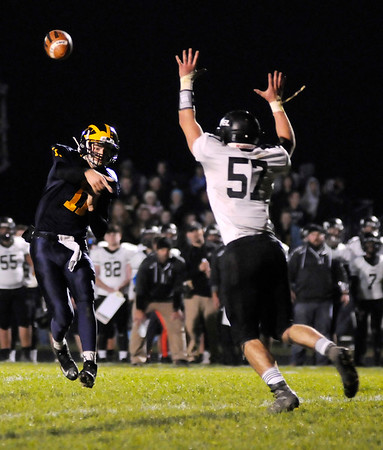 Don Knight |  The Herald Bulletin<br /> Shenandoah hosted Lapel for the sectional championship on Friday