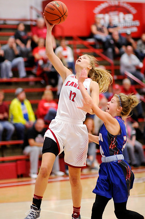 Don Knight |  The Herald Bulletin<br /> Frankton hosted Elwood on Saturday.
