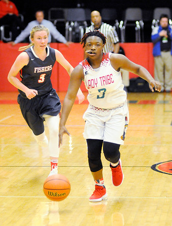 Don Knight   The Herald Bulletin<br /> Anderson hosted Fishers on Wednesday.