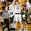 Don Knight |  The Herald Bulletin<br /> Pendleton Heights' Justin Shupe shoots a three-point basket as the Arabians hosted Delta on Wednesday.