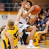 Don Knight |  The Herald Bulletin<br /> Pendleton Heights hosted Delta on Wednesday.