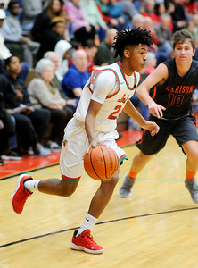 Don Knight | The Herald Bulletin Anderson hosted Harrison on Friday.