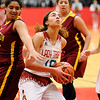 Don Knight |  The Herald Bulletin<br /> Anderson's Maleah Grines looks to shoot as the Tribe hosted McCutcheon on Friday.