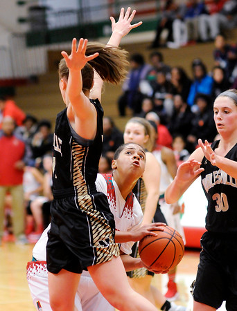 Don Knight | The Herald Bulletin<br /> Anderson hosted Noblesville on Tuesday.
