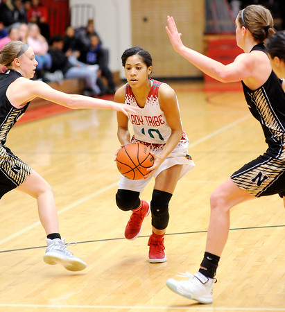 Don Knight   The Herald Bulletin<br /> Anderson hosted Noblesville on Tuesday.