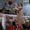 Grace Bradley of Chardon goes up for a lay up during a game against Brush at Chardon High School on December 14, 2016.