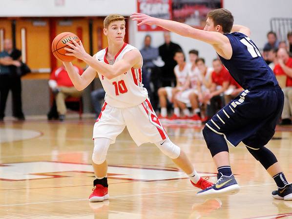Don Knight    The Herald Bulletin<br /> Frankton hosted Oak Hill on Friday.