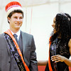 Don Knight | The Herald Bulletin<br /> Jared Baker and Monica Watkins were crowned homecoming king and queen during Liberty Christian's homecoming on Friday. Homecoming events continue today with an alumni volleyball game at 10:30 a.m. and alumni basketball game at 3 p.m. in The Den. View more photos online at photos.heraldbulletin.com.