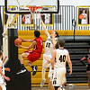 Barry Booher - The News-Herald<br /> Elijah Martin goes up against Jamison Campbell.