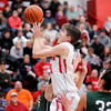 Don Knight |  The Herald Bulletin<br /> Madison County Tournament at Frankton on Tuesday.