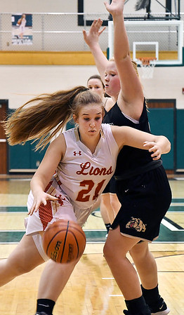 John P. Cleary | The Herald Bulletin<br /> Lapel vs Liberty Christian girls in semi-final round of Madison County tourney.