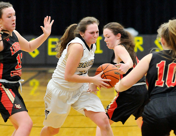 John P. Cleary   The Herald Bulletin<br /> Liberty Christian vs Daleville in girls basketball.