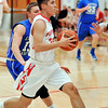 John P. Cleary |  The Herald Bulletin<br /> Eastern Hancock vs Frankton in Boys and Girls Basketball.