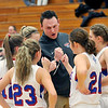 John P. Cleary |  The Herald Bulletin<br /> Daleville vs Elwood in girls basketball.
