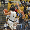 Paul DiCicco - The News-Herald<br /> Brush's Tyler Williams drives for a reverse layup against South on Dec. 28.