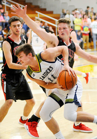 Don Knight | The Herald Bulletin<br /> Shenandoah hosted Rushville on Friday.