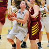 John P. Cleary |  The Herald Bulletin<br /> Alexandria vs Shenandoah in girls basketball.