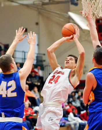 John P. Cleary | The Herald Bulletin<br /> Carmel vs Anderson in boys basketball.