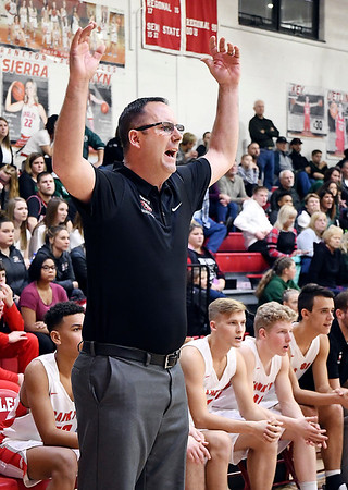 John P. Cleary   The Herald Bulletin<br /> First round of Madison County Tourney with Pendleton Heights vs Frankton in boys basketball.