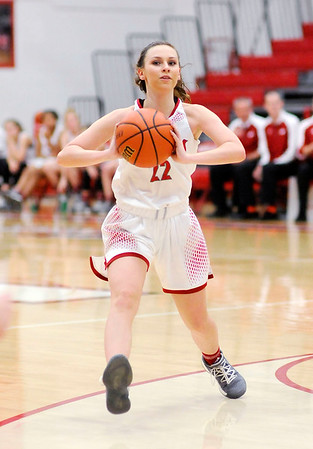 Don Knight    The Herald Bulletin<br /> Frankton hosted Mississinewa on Tuesday.