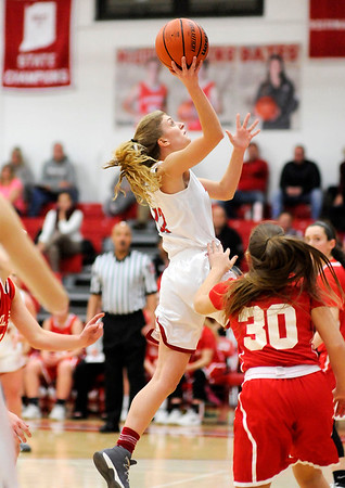 Don Knight |  The Herald Bulletin<br /> Frankton hosted Mississinewa on Tuesday.