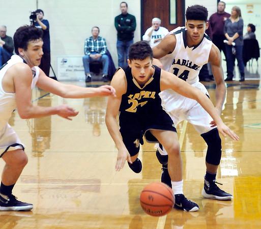 John P. Cleary | The Herald Bulletin<br /> Lapel vs PHHS in boys basketball.