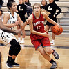 John P. Cleary |  The Herald Bulletin<br /> Frankton vs Lapel in girls basketball.