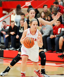 John P. Cleary |  The Herald Bulletin Lapel vs Frankton in girls basketball.